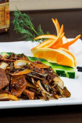 Блюда из говядины
